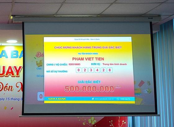 """Tìm được chủ nhân những giải thưởng giá trị trong chương trình """"Cùng Nam A Bank đón Xuân Tài Lộc"""" ảnh 1"""