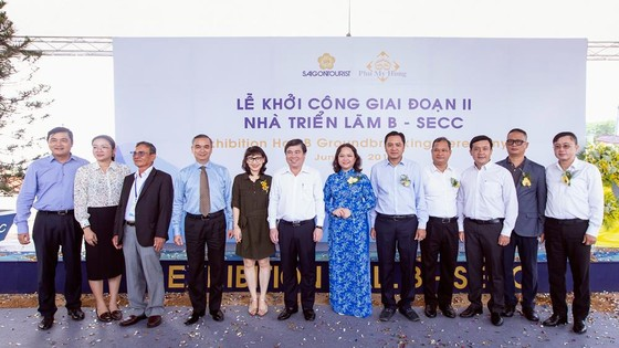 Saigontourist khởi công giai đoạn II Nhà triển lãm B ảnh 2