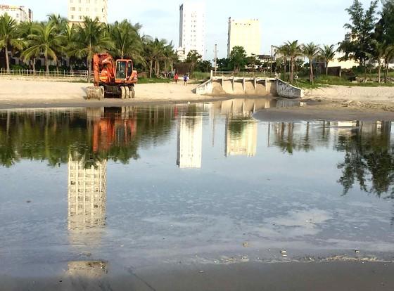 Bãi tắm ở Đà Nẵng ô nhiễm vì nước thải ảnh 1