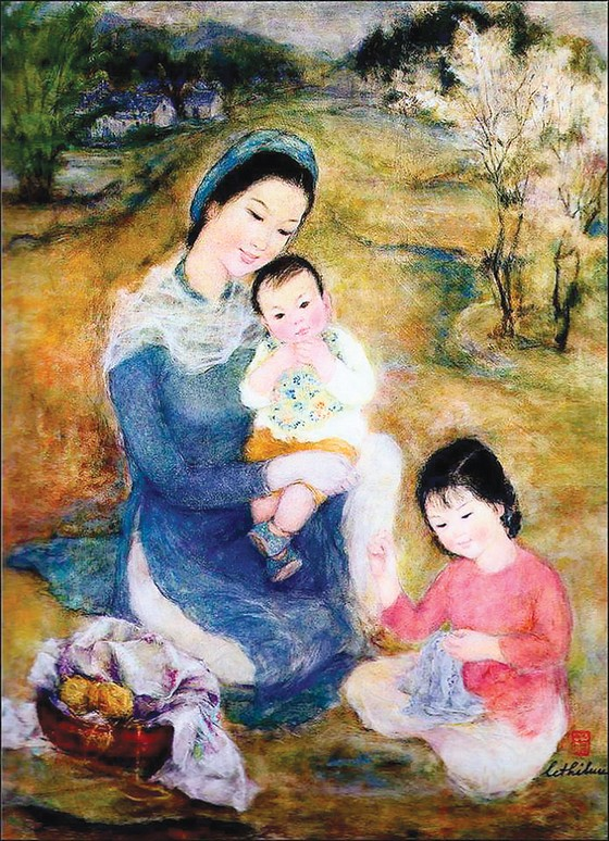 Di sản mỹ thuật của Lê Thị Lựu trở về cố hương ảnh 2