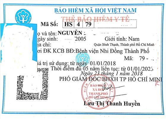 Thẻ BHYT không ghi đúng thời điểm đủ 5 năm liên tục ảnh 1