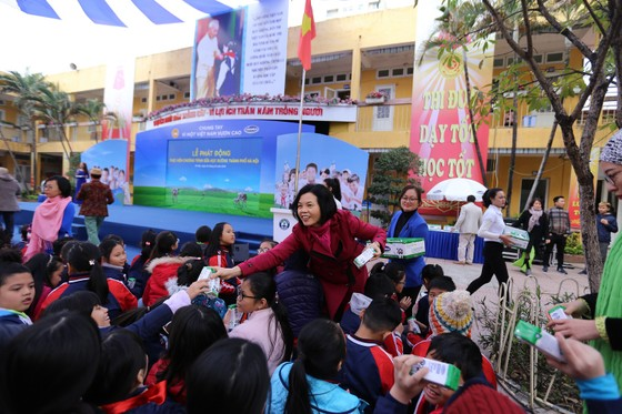 TP Hà Nội đồng loạt triển khai chương trình Sữa học đường năm 2019   ảnh 1