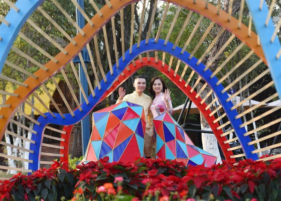 Phát cuồng với những góc check-in tại Lễ hội hoa xuân Sun World HaLong Complex ảnh 4