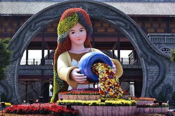 Phát cuồng với những góc check-in tại Lễ hội hoa xuân Sun World HaLong Complex ảnh 7