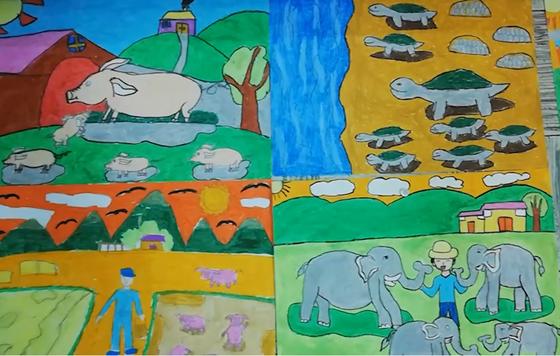 Uớc mơ dạy vẽ cho trẻ em khuyết tật của người thầy câm điếc bẩm sinh ảnh 3