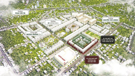 """Phát triển hạ tầng đô thị nhanh: Gò Vấp đang được xem là nơi """"đáng sống"""" khu vực Bắc TPHCM ảnh 2"""