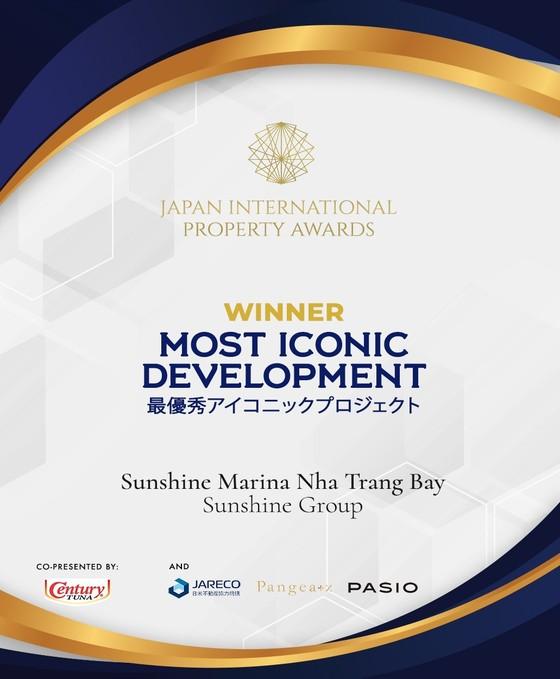 Sunshine Marina Nha Trang Bay được vinh danh tại giải thưởng BĐS quốc tế Nhật Bản ảnh 1
