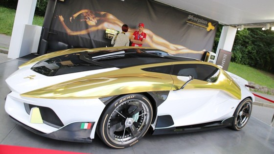 Frangivento Charlotte Roadster: Sieu xe mui tran chay dien chua be ca hinh anh 1