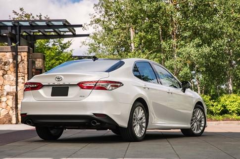 Toyota Camry 2018 có giá từ 23.45 USD tại Mỹ - ảnh 5