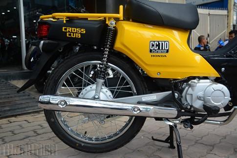 'Hậu bối' của Honda Cub huyền thoại trở lại Việt Nam - ảnh 8