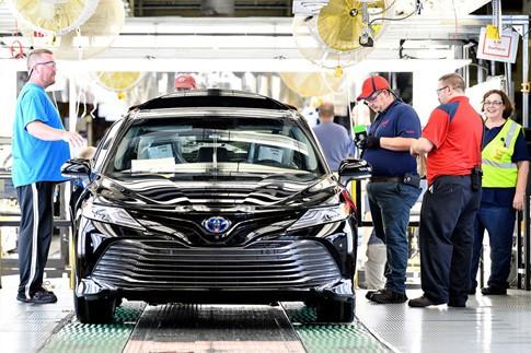 Toyota Camry 2018 sản xuất tại Mỹ có cấu trúc khung sườn mới - ảnh 2