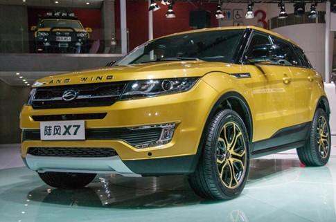 Xe nhái Range Rover Evoque, Landwind X7 tiếp tục nâng cấp - ảnh 2
