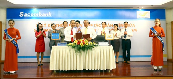 Sacombank hợp tác toàn diện với Vietnam Post ảnh 1
