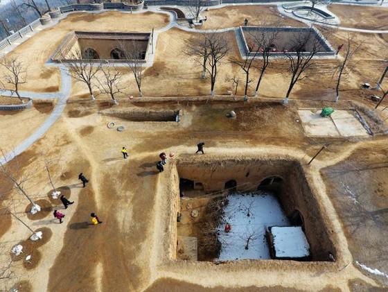 Bí ẩn làng cổ 4.000 năm dưới lòng đất ở Sanmenxia - Ảnh 6.