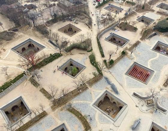 Bí ẩn làng cổ 4.000 năm dưới lòng đất ở Sanmenxia - Ảnh 3.