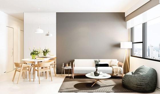 Xu hướng thiết kế căn hộ tầm trung ảnh 3