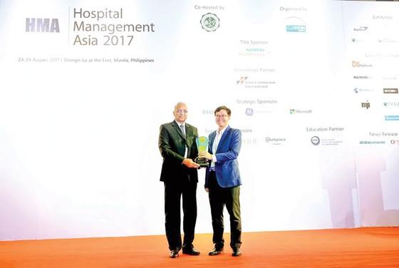 Đạt giải vàng tại Hội nghị quản lý Bệnh viện Châu Á ảnh 1