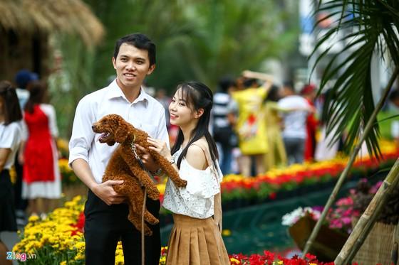 Hoi hoa xuan khu nha giau Phu My Hung hinh anh 13