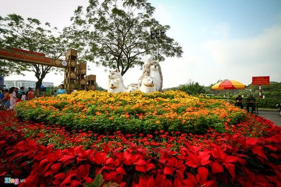 Hoi hoa xuan khu nha giau Phu My Hung hinh anh 12