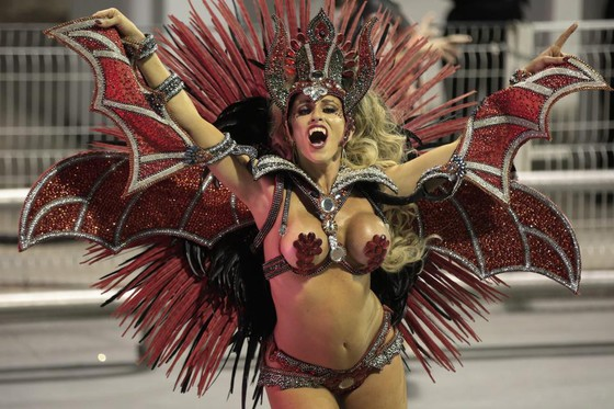 Choáng ngợp với Carnaval Rio đầy màu sắc và quyến rũ - Ảnh 7.