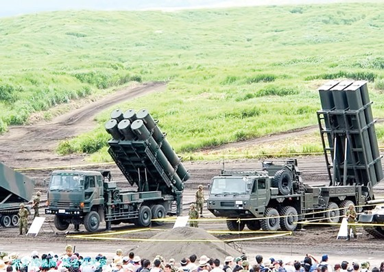 Nhật Bản tăng cường phòng thủ  ảnh 1