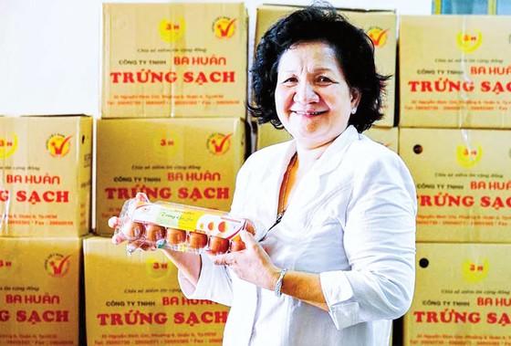 Bà Phạm Thị Huân, TGĐ Cty Ba Huân: Tuổi đời lớn nhưng đam mê rất trẻ ảnh 1