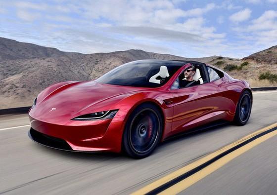 [Ảnh] Hé lộ loạt ảnh cực chất về siêu xe Tesla Roadster, dự kiến ra mắt vào năm 2020 tới - Ảnh 1.