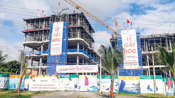 Ông chủ dự án Aloha Beach Village: May mắn vì chưa vay ngân hàng! ảnh 2