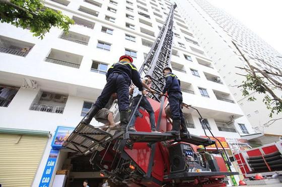 17 chung cư không bảo đảm an toàn phòng cháy chữa cháy ảnh 1
