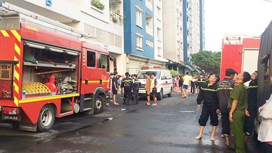 Cháy chung cư cao cấp ở TPHCM, 13 người tử vong ảnh 8
