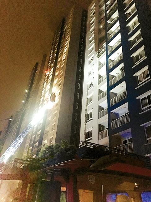 TPHCM khẩn trương khắc phục hậu quả vụ cháy chung cư Carina  ảnh 1
