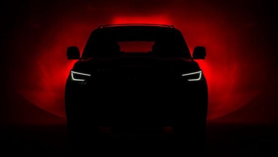 Infiniti ra mat cap SUV dac biet, thach thuc Lexus LX570 hinh anh 1