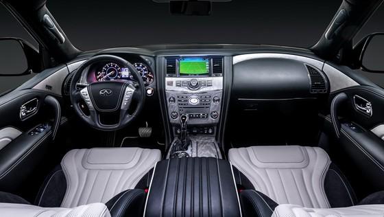Infiniti ra mat cap SUV dac biet, thach thuc Lexus LX570 hinh anh 7