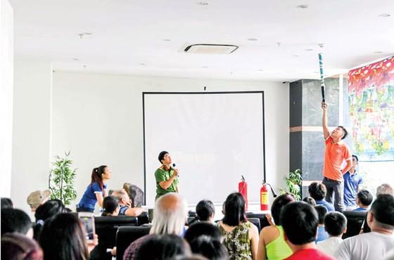 Tập huấn và tuyên truyền PCCC tại Him Lam Riverside  ảnh 4