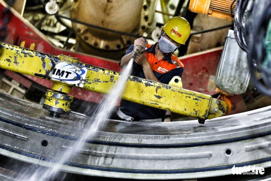 Ngắm đường hầm metro thứ 2 sắp hoàn thành dưới lòng đất - Ảnh 4.