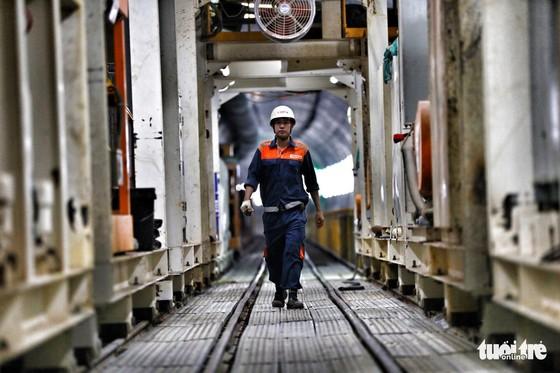 Ngắm đường hầm metro thứ 2 sắp hoàn thành dưới lòng đất - Ảnh 5.