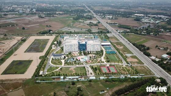 Cận cảnh bệnh viện nhi 4.500 tỉ có bãi trực thăng tại TP.HCM - Ảnh 2.