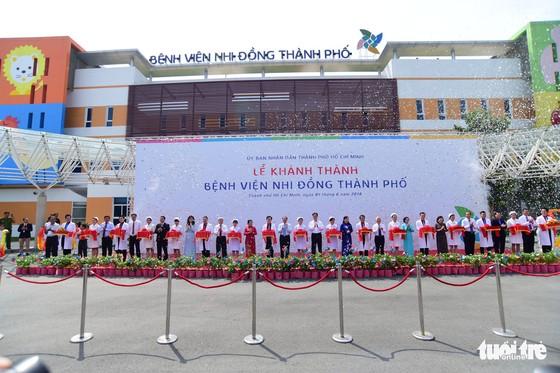 Cận cảnh bệnh viện nhi 4.500 tỉ có bãi trực thăng tại TP.HCM - Ảnh 9.