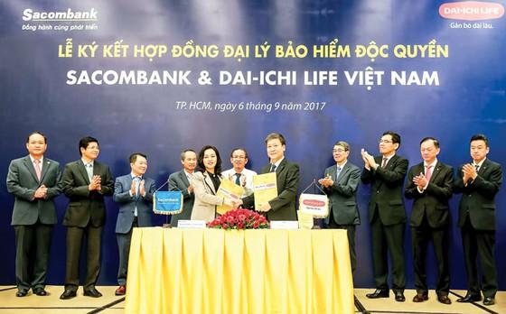Hợp tác Sacombank và Dai-ichi Life Việt Nam tăng trưởng ngoài mong đợi ảnh 1