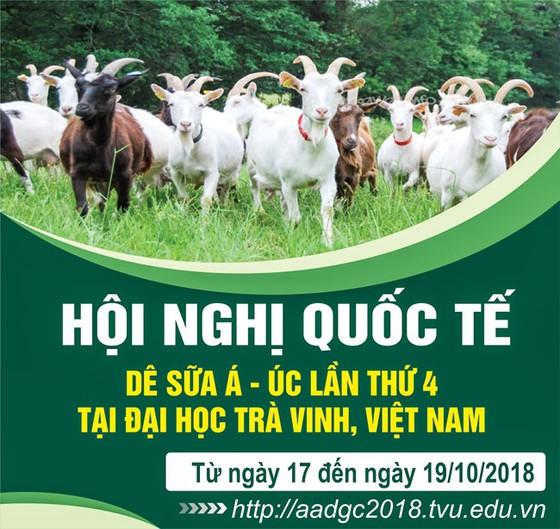 Đại học Trà Vinh tổ chức hội thảo quốc tế dê sữa Á-Úc ảnh 1