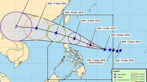 Siêu bão Florence là một trong chuỗi 9 cơn bão đang hoạt động trên thế giới ảnh 2