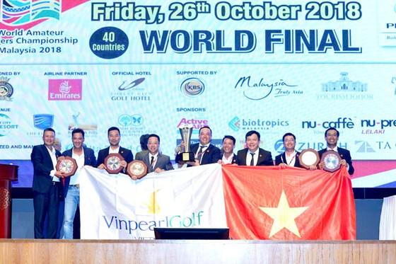 Giải WAGC Thế giới: Đội tuyển Golf Việt Nam bảo vệ thành công vị trí số 1  ảnh 1