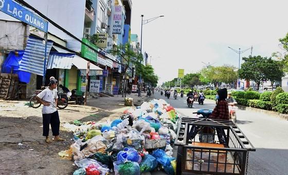 Rác thải làm bẩn môi trường sống ảnh 1