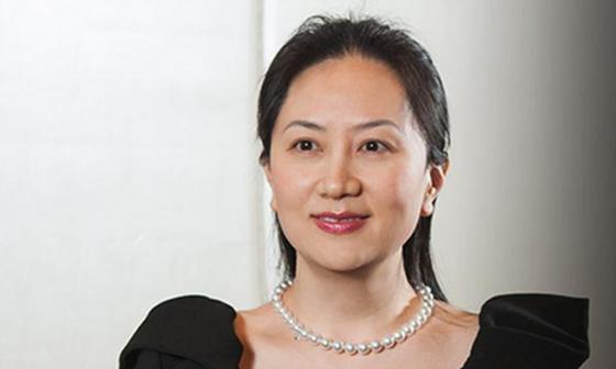 Giám đốc tài chính tập đoàn Huawei Mạnh Vãn Chu. Ảnh: TWITER
