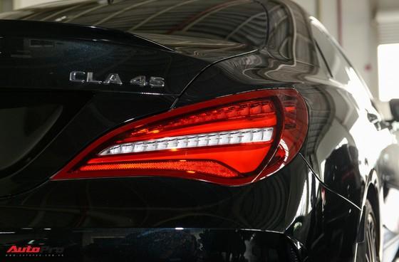 Mercedes-Benz CLA45 AMG Yellow Night Edition, giá 2,578 tỷ đồng ảnh 8