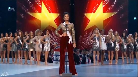 Lần đầu tiên trong lịch sử: Đại diện Việt Nam - H'Hen Niê vào Top 5 Hoa hậu Hoàn vũ ảnh 3