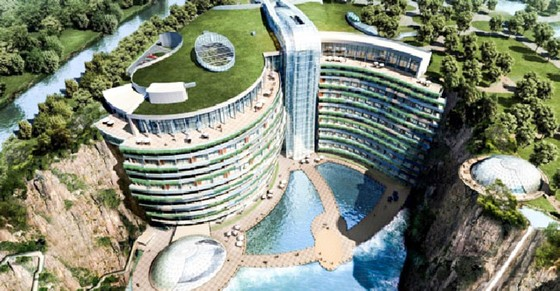 Trung Quốc: Khách sạn 5 sao dưới lòng đất ảnh 1
