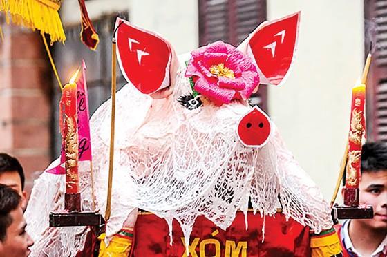 Lễ hội rước ông lợn ở La Phù ảnh 1