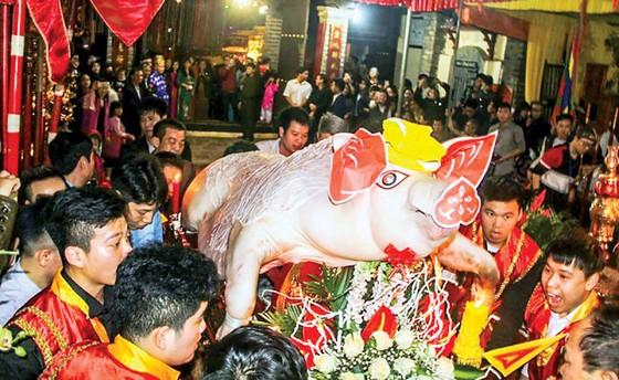 Lễ hội rước ông lợn ở La Phù ảnh 2