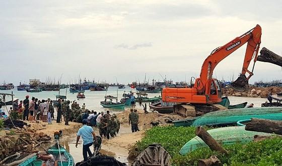 Bão số 1 làm nhiều tàu cá tại Thổ Châu bị đánh chìm ảnh 2